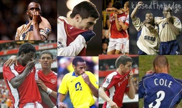 Arsenal players
